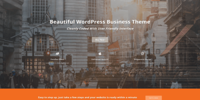 WordPress单页企业主题:Featuredlite