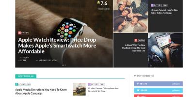 WordPress主题适用于新闻杂志博客 – Innovation