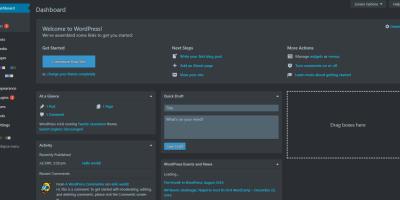 WordPress仪表盘夜间模式插件:<span>Dark Mode</span>
